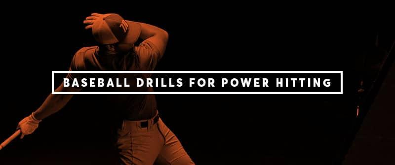 Baseball Hitting Drills for Power