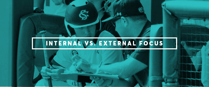 Internal vs. External Focus for Baseball and Softball Hitters